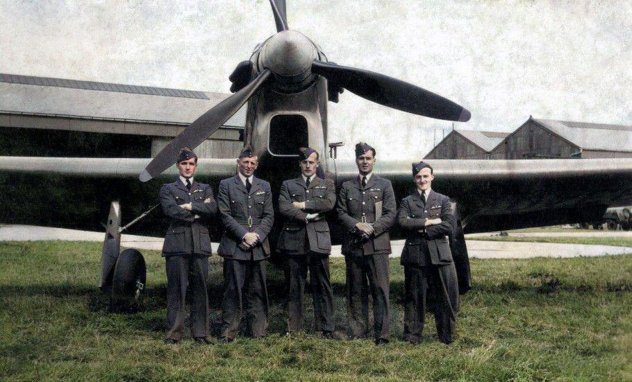 """B"""" Flight – No.1 A.O.S. (Air Observer School) – 1939"""