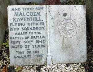 Malcolm's Grave, City Road Cemetery, Sheffield