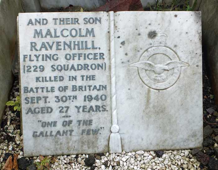 Malcolm's Grave (Sheffield Cemetery)